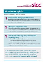 Service and Conduct Complaint Form
