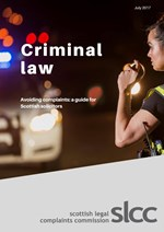 Preventing complaints - criminal law