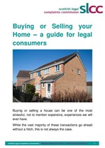 Residential Conveyancing - a guide for consumers